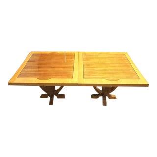 20th Century Biedermeier Style Dining Table For Sale