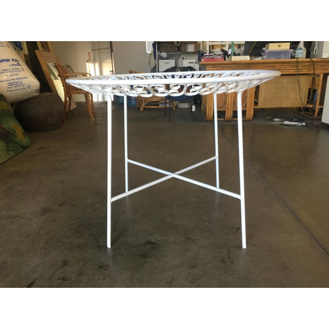1950s Ribbon Patio/Outdoor Picnic Table by Maurizio Tempestini for Salterini For Sale - Image 5 of 9