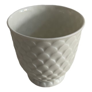 1970s Limoges MET Reproduction Pineapple Cup For Sale