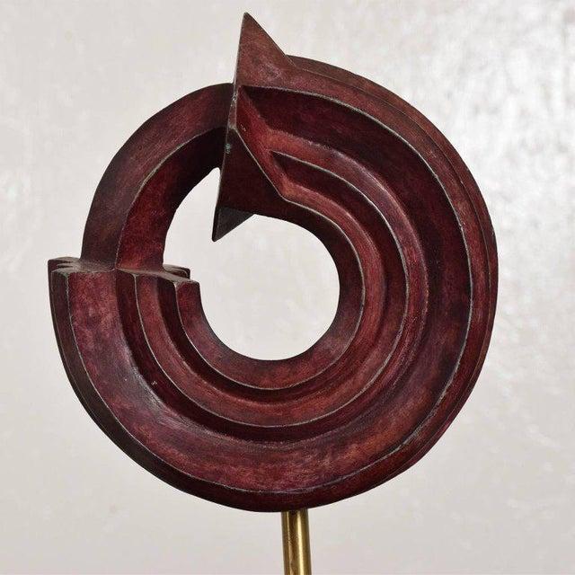 Bronze Modern Bronze Sculpture by Sebastian, Enrique Carbajal Gonzalez For Sale - Image 7 of 10