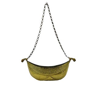Brass Kashkul Sufi Dervish Begging Bowl