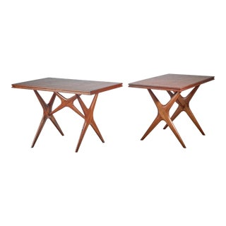 Ico Parisi Pair of Tables, Italy, 1950s For Sale