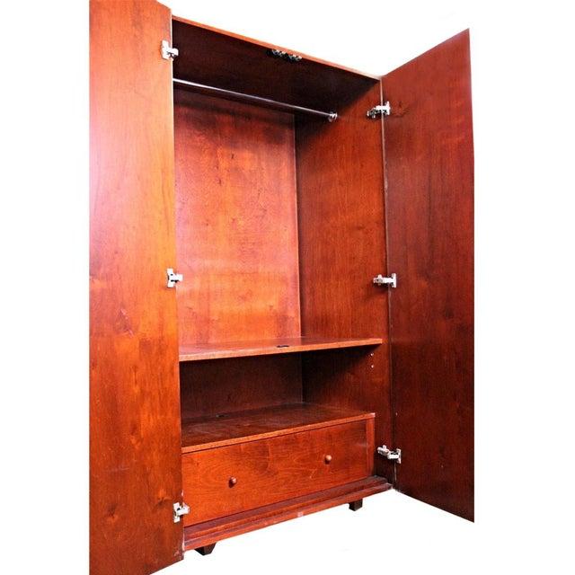Art Deco Wardrobe Cabinet - Image 7 of 10