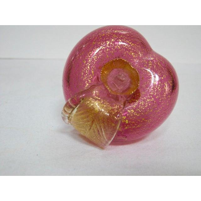 Italian Murano Blown Glass Apple - Image 4 of 6