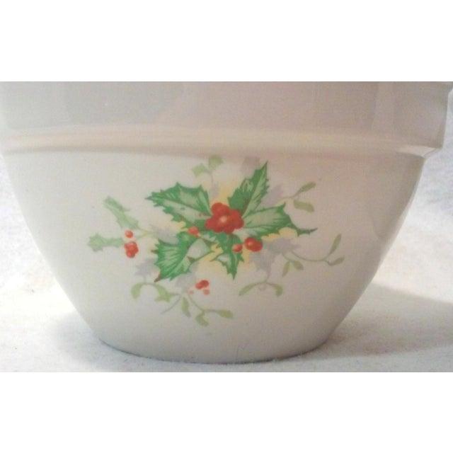 Holly Leaf Halls China Bowls - Pair - Image 3 of 5
