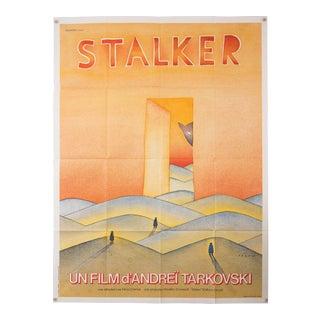 """Vintage French Andrei Tarkovsky """"Stalker"""" film poster For Sale"""