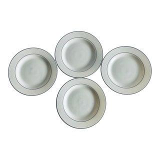 """Modern Arcopal France Gastronomie 9.5""""d Plates S/4 For Sale"""