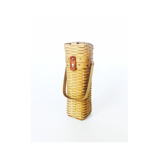 Vintage Wine Basket - Image 2 of 6