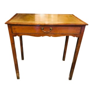 George III Leather Top Table For Sale