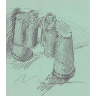 1970s Still Life With Binoculars by James Bone For Sale