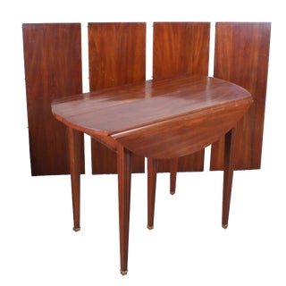 Henkel Harris Virginia Galleries Wild Black Cherry Dining Table