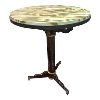 Contemporary Henredon Side Table For Sale
