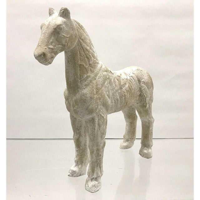 Mid-20th Century Vintage Plaster Model of Horse For Sale In Atlanta - Image 6 of 9