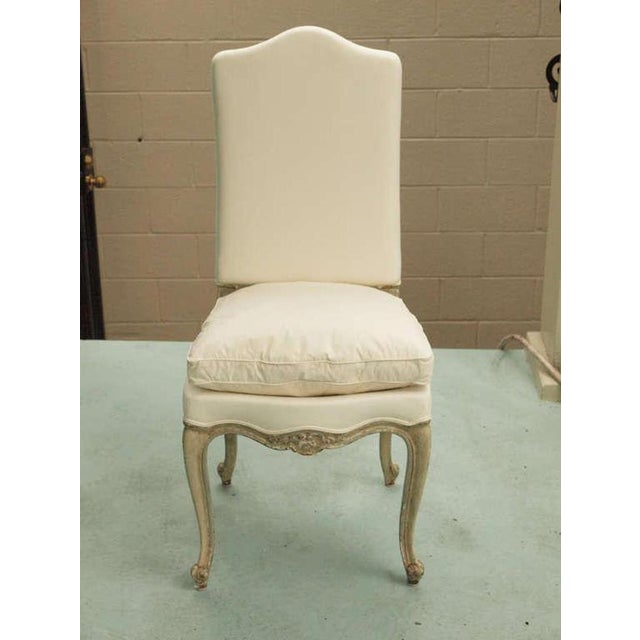 Set of Six 19th Century Louis XV Dining Chairs For Sale - Image 4 of 9