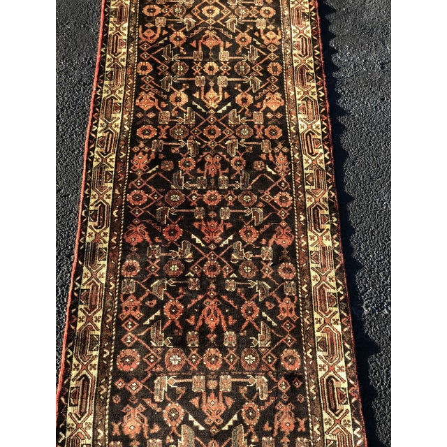 "3'4""x10'2"" 70yr Old Persian Hamadan Runner Thanks for visiting our shop! First and foremost we price ourselves on the..."