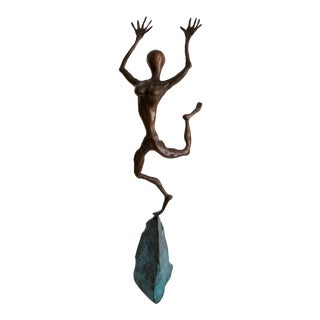 1997 Bronze Sculpture Signed & Dated Dan McCabe For Sale
