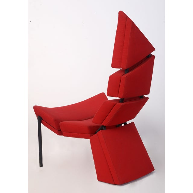Modern Sculptural Chinese Inspired Seat For Sale - Image 3 of 8