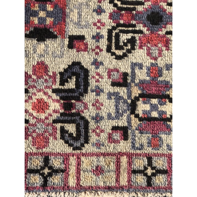 "2'4""x4' 70yr Old Vintage Turkish Anatolian Small Area Rug Look No Further, we have the rug your are looking for. We have..."