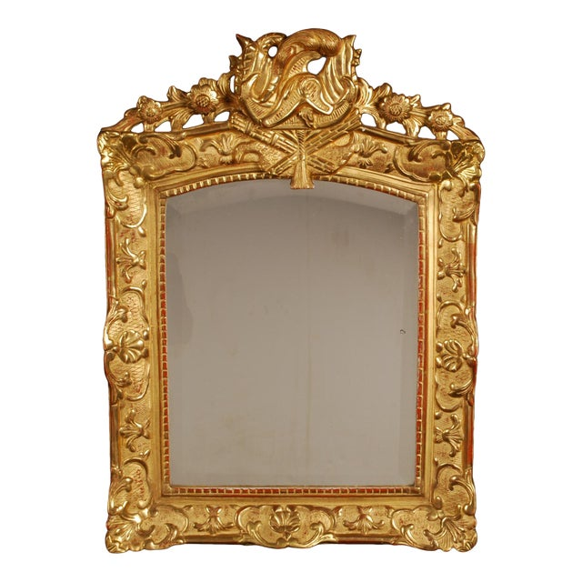 Superb French Regency Period Giltwood Wall Mirror For Sale - Image 12 of 12