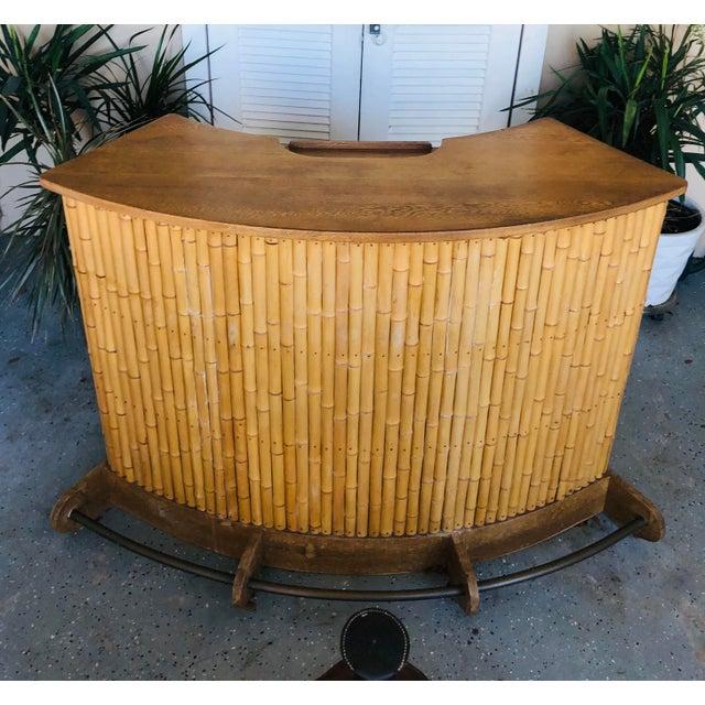 1940s English Colonial Tiki Bar For Sale - Image 13 of 13