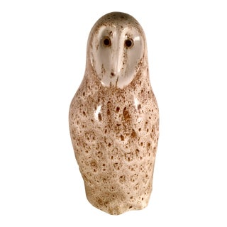 1970s Pigeon Forge Pottery, Donald Ferguson Owl Sculpture For Sale