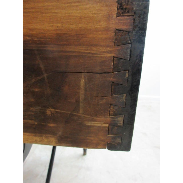 Antique Victorian Primitive Slant Top Plantation Writing Desk For Sale In Philadelphia - Image 6 of 11