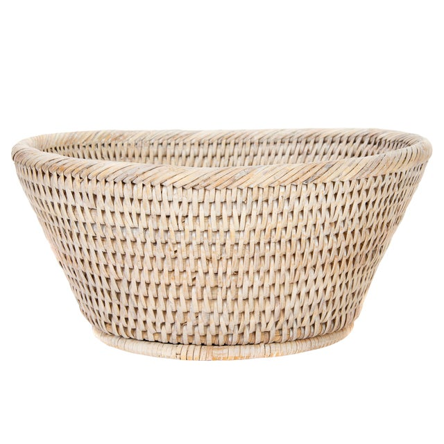 Artifacts Rattan Round Bowl For Sale