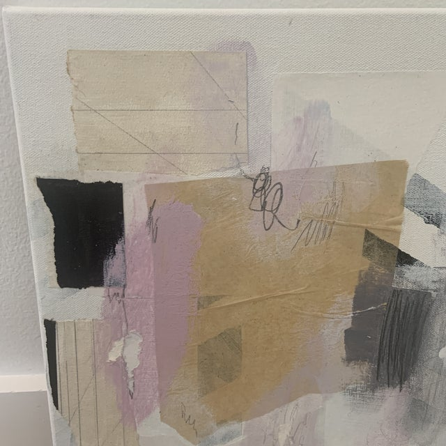 Contemporary Modern Abstract Mixed-Media Painting by Ross Severson For Sale - Image 4 of 8