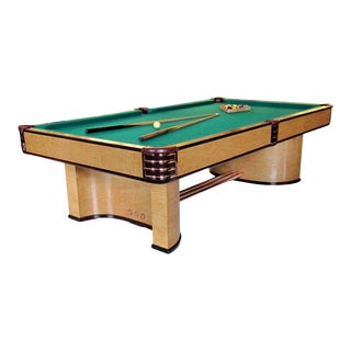 Donald Deskey Designed Brunswick Paramount Pool Table For Sale