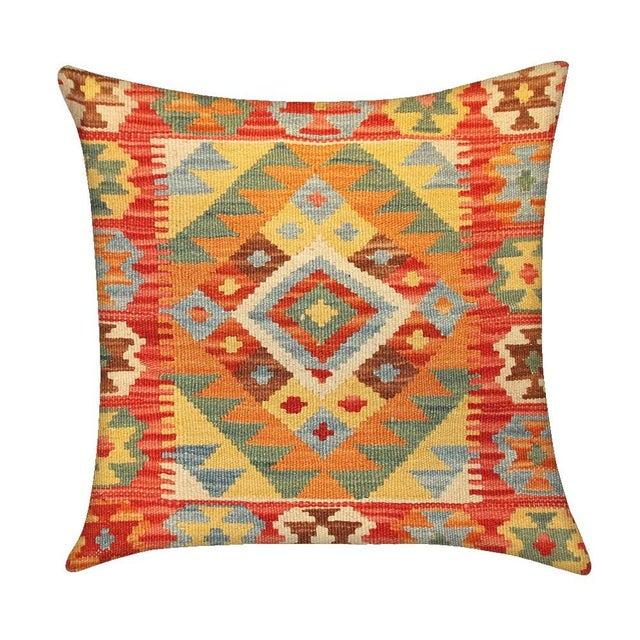 Vintage Pasargad Turkish Kilim Pillow - Image 1 of 2