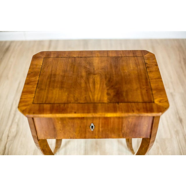 Brown Biedermeier Sewing Table, a Classic of the Style, circa 1860 For Sale - Image 8 of 11