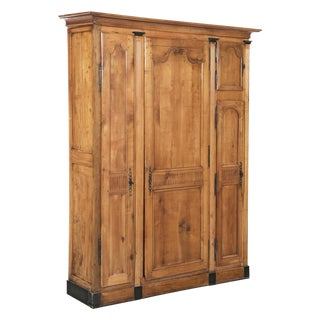 19th Century Neoclassical Fruitwood Cabinet For Sale