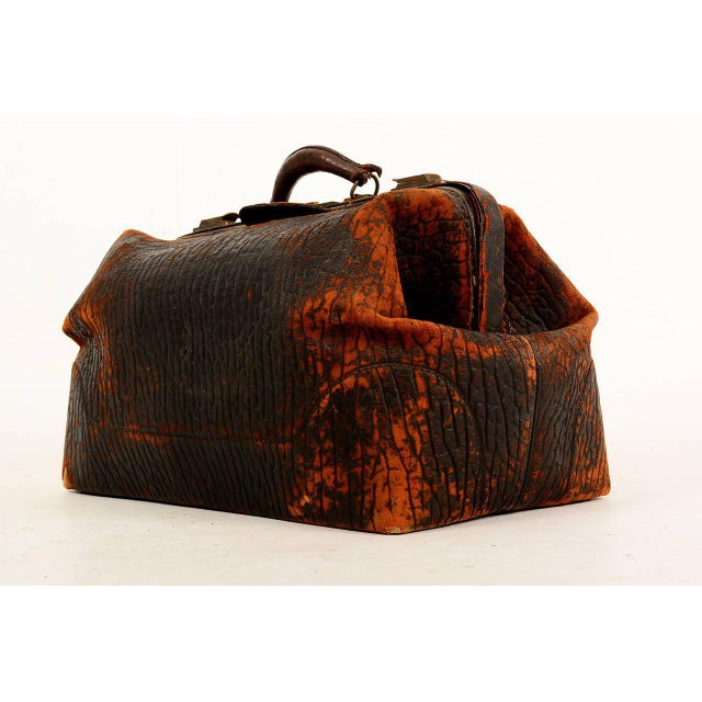 Leather Doctor's Bag For Sale - Image 4 of 10