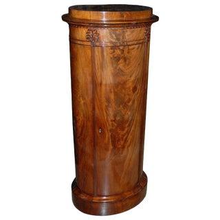 Mid 19th Century Danish Mahogany Pedestal Cabinet For Sale