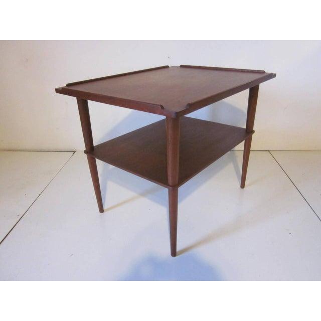 Teak Arne Hovmand-Olsen Danish Side Table For Sale - Image 7 of 7