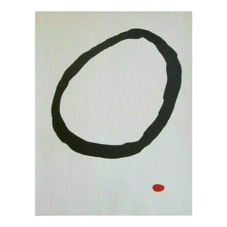 Original Vintage Mid 20th C. Modern Abstract Ltd. Ed. Woodcut-Joan Miro-Signed-Elephant Folio Size For Sale