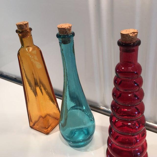 Vintage Glass Bottles - Set of 3 - Image 4 of 5