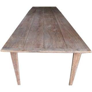 Antique Folding Harvest Table For Sale