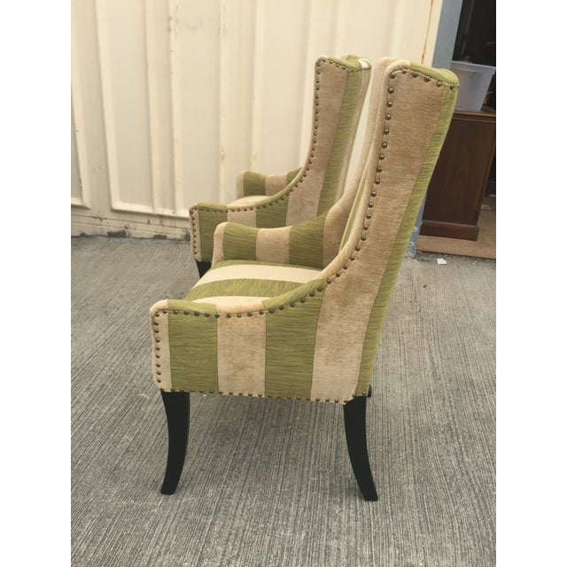 Lounge or Dining Chairs a Pair For Sale - Image 9 of 10