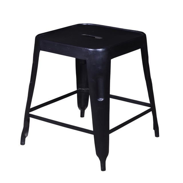 Iron Bar Stool Set of 2 - Image 2 of 4