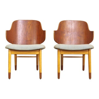 Vintage Danish Modern Kofod Larsen Penguin Chairs For Sale
