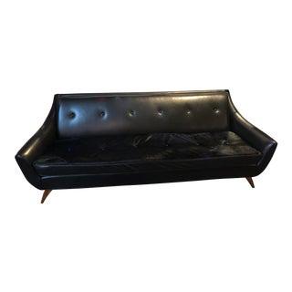 Mid Century Modern Adrian Pearsall Style Gondola Sofa For Sale