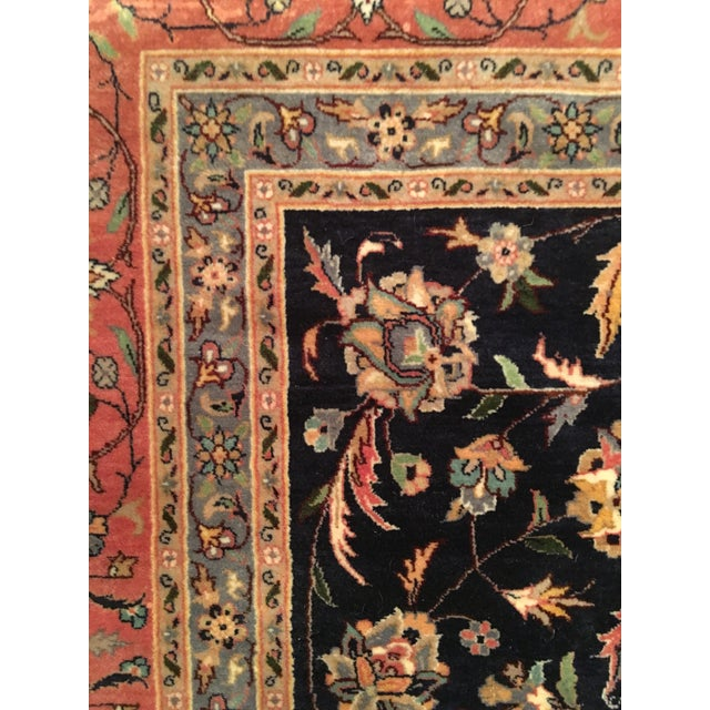 "Vintage Persian Area Rug - 9'x12'7"" - Image 5 of 11"