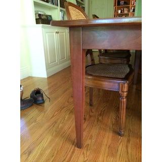 Custom Made Solid Cherry Dining Table Preview