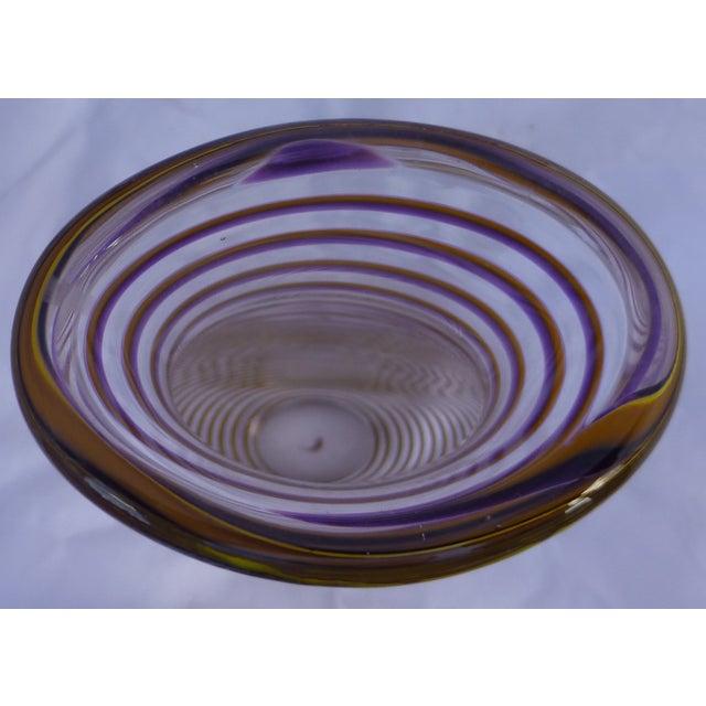 Mid-Century Style Studio Art Glass Vase - Image 8 of 8