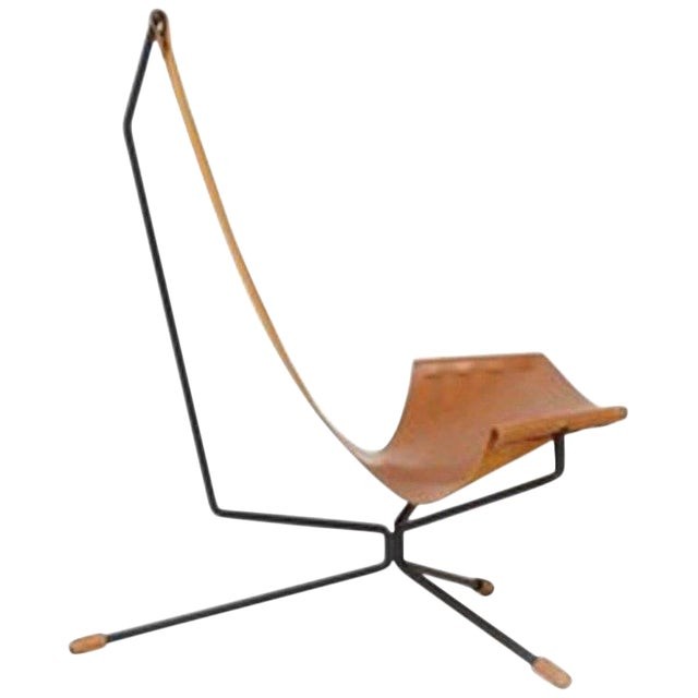 Large Lotus Chair by Dan Wenger For Sale