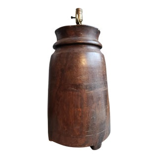 Small Waterjar Table Lamp For Sale