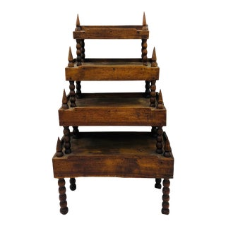 Antique Primitive Arts & Crafts Shelf For Sale