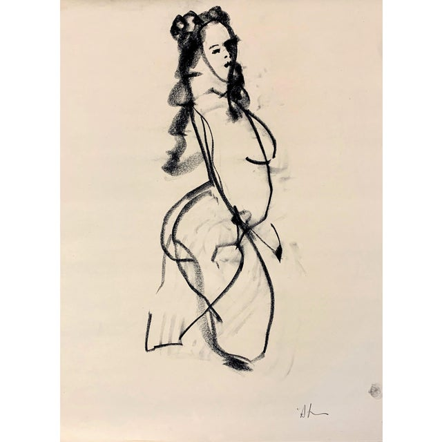 Cody Sketch III by Heidi Lanino - 18 X 24 For Sale