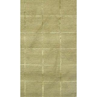 Modern Decorative Wool With Part Silk Tibetan Rug- 4′ × 6′ Preview